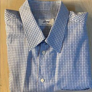 Used XXL Brioni Mens Shirt Long Sleeve